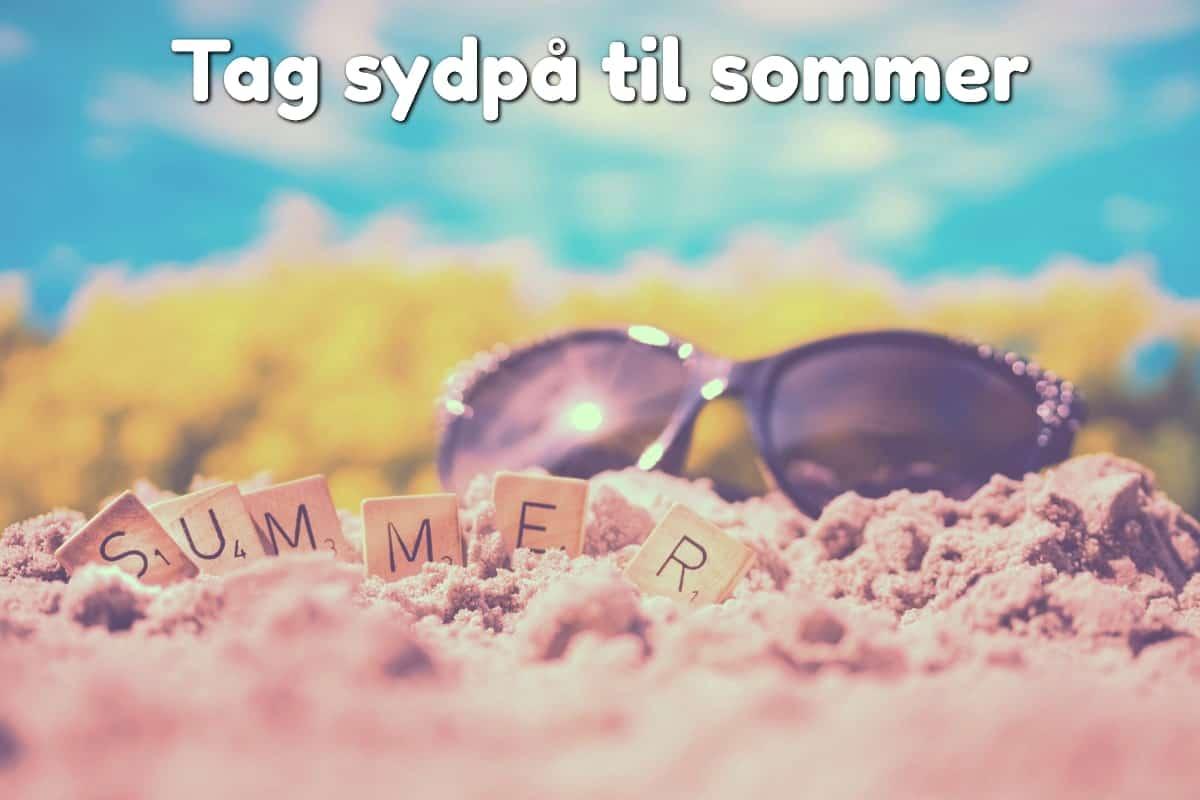 Tag sydpå til sommer